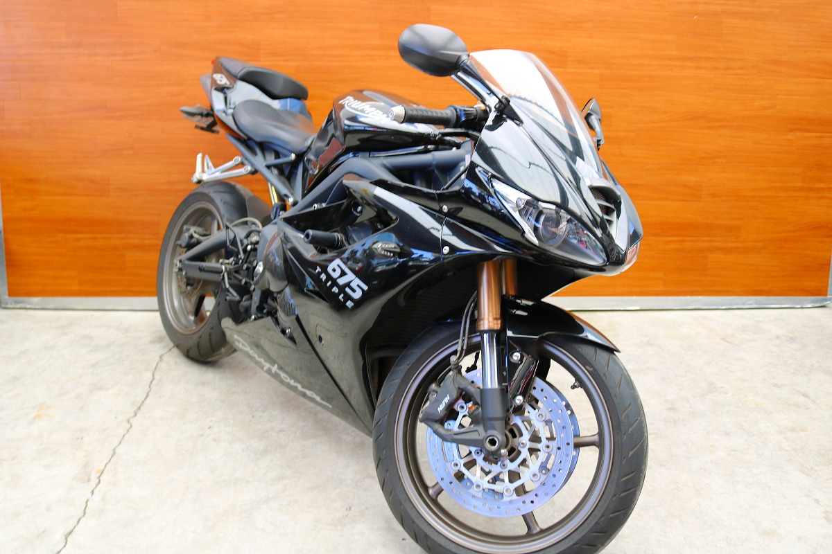 buy popular 8e4cb 64f6c 熊本中古車バイク情報】トライアンフ デイトナ675 675㏄ 黒 ...